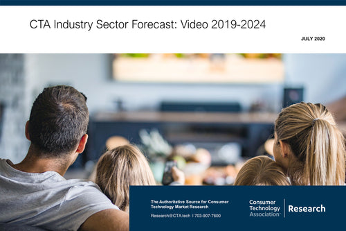CTA Industry Sector Forecast: Video 2019-2024