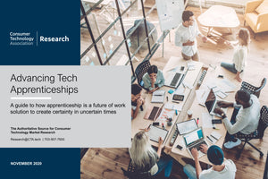 Advancing Tech Apprenticeships: A guide to how apprenticeship is a future of work solution to create certainty in uncertain times