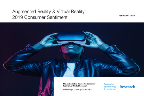 Augmented Reality & Virtual Reality: 2019 Consumer Sentiment