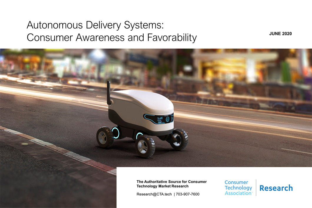 Autonomous Delivery Systems: Consumer Awareness and Favorability