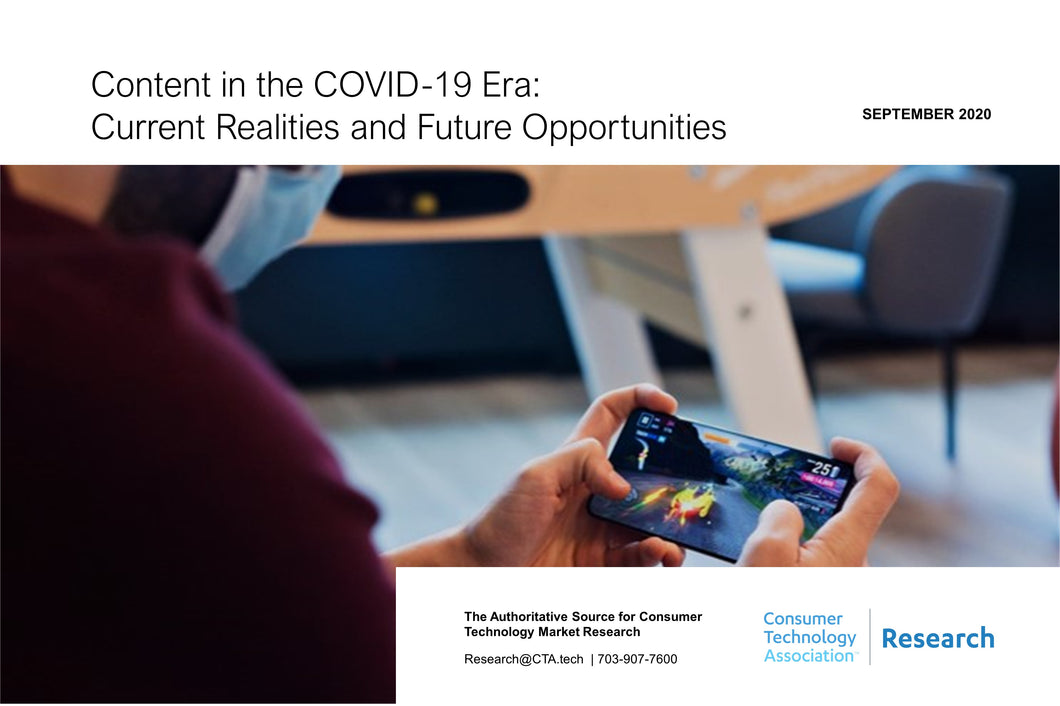 Content in the COVID-19 Era: Current Realities and Future Opportunities