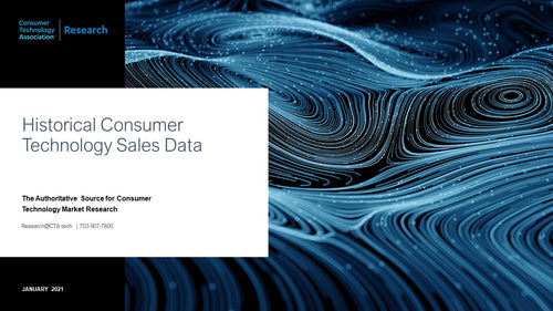 Historical Consumer Technology Sales Data (January 2020)