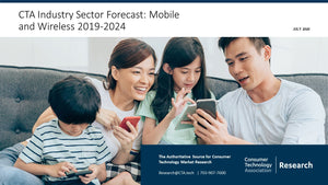 CTA Industry Sector Forecast: Mobile and Wireless 2019-2024 (January 2021)