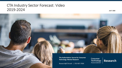 CTA Industry Sector Forecast: Video 2019-2024 (January 2021)