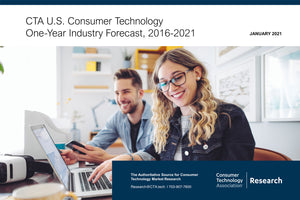CTA U.S. Consumer Technology One-Year Industry Forecast, 2016-2021