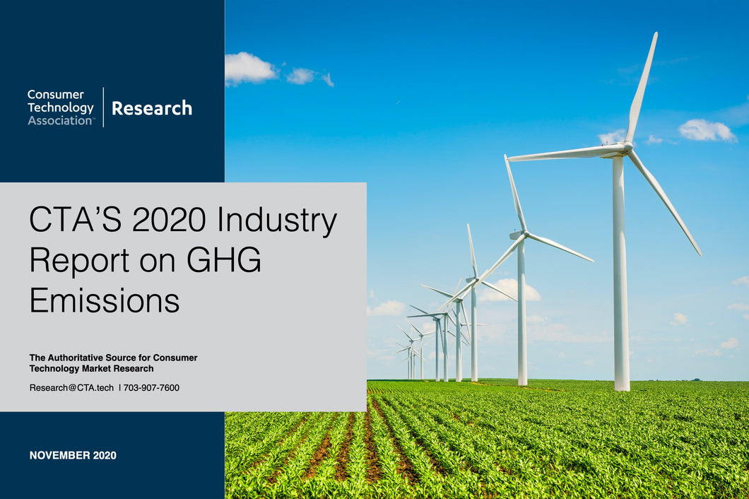 CTA's 2020 Industry Report on Greenhouse Gas Emissions