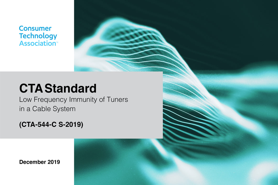 Low Frequency Immunity off Tuners in a Cable System (CTA-544-C S-2019)
