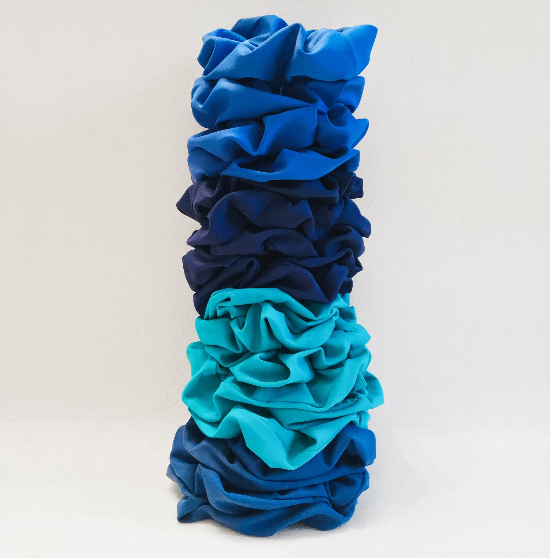 Waste Fabric Eco Scrunchies - Pack of three