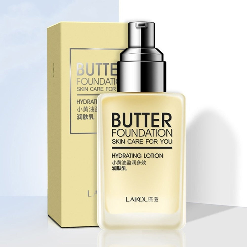 Butter Foundation Skin Care Hydrating Lotion Deep Moisturizing Face Cream Nourishing Cosmetics Natural Skin Care Cream Selling