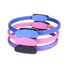 Load image into Gallery viewer, Unbreakable Dual Grip Magic Exercise Circle Double Handle Pilates Ring Yoga Fitness Circle
