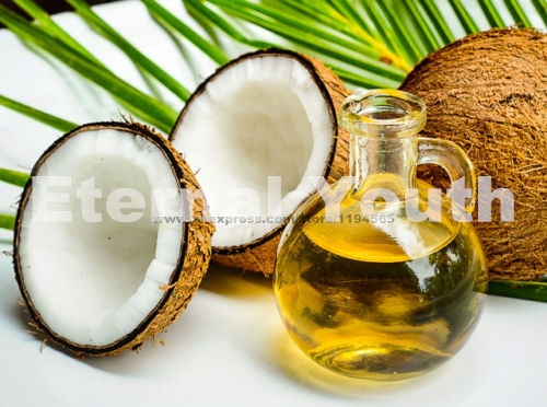 Eternal Youth FRACTIONATED COCONUT OIL PURE NATURAL ORGANIC BASE CARRIER OIL Handmade Soap Base Supplies