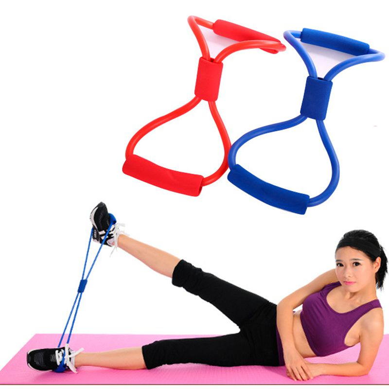 Resistance Bands Training Bands Tube Workout Exercise 8-shaped Chest Developer Body Building Fitness Slimming Product