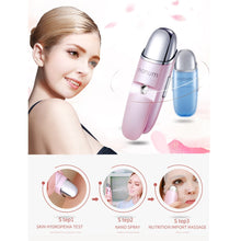 Load image into Gallery viewer, Portable Nanum Face Mist Water Spraying Face Misting Hydrating Beauty Ultrasonic Humidifier