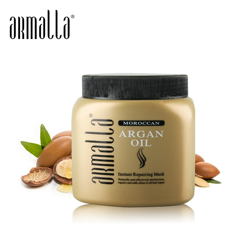 Newest Best Selling Armalla 500ml Moroccan Hair Mask Best Dry Professional Maintenance Repair Hair Care Products Free Shipping