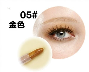 1 Pcs 20 Color Liquid Eyeliner Pencil Waterproof Long-lasting Eye Liner Pencil Smooth Makeup Comestic for Eyeshadow Dropship Tc1