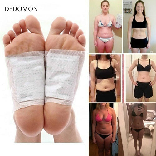 10 Pcs Detox Foot Patch Improve Sleep Slimming Foot Care Feet Sticker Weight Loss Products Effective Anti Cellulite Fat Burning