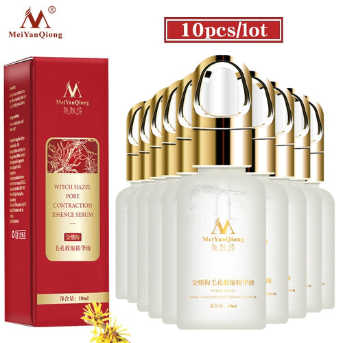 10 pcs Mei Yan Qiong Witch Hazel Essence Whitening Skin Quickly And Effectively Reduce Pores Firming Skin Facial Care