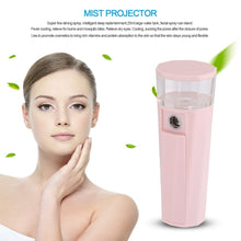Load image into Gallery viewer, Handheld Sprayer Facial Steamer Mini Portable Strong Deep Moisturizing Water Spa Skin Care Beauty Instrument New Hot