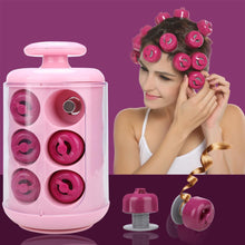 Load image into Gallery viewer, Professional Electric Curly Pods Hair Styling x Pods, x Manual, x Glove Tool 12 Rollers Home, 1690g Hair Curler