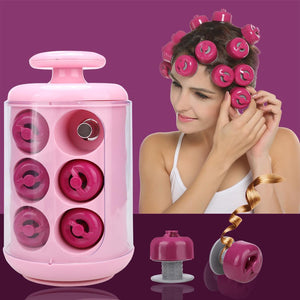 Professional Electric Curly Pods Hair Styling x Pods, x Manual, x Glove Tool 12 Rollers Home, 1690g Hair Curler