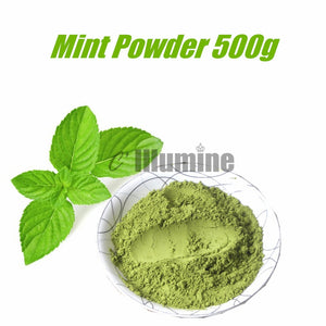 Natural Mint Powder Handmade Soap Raw Material 500g Refreshing