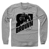 Tim Brown Men's Long Sleeve T-Shirt | 500 LEVEL