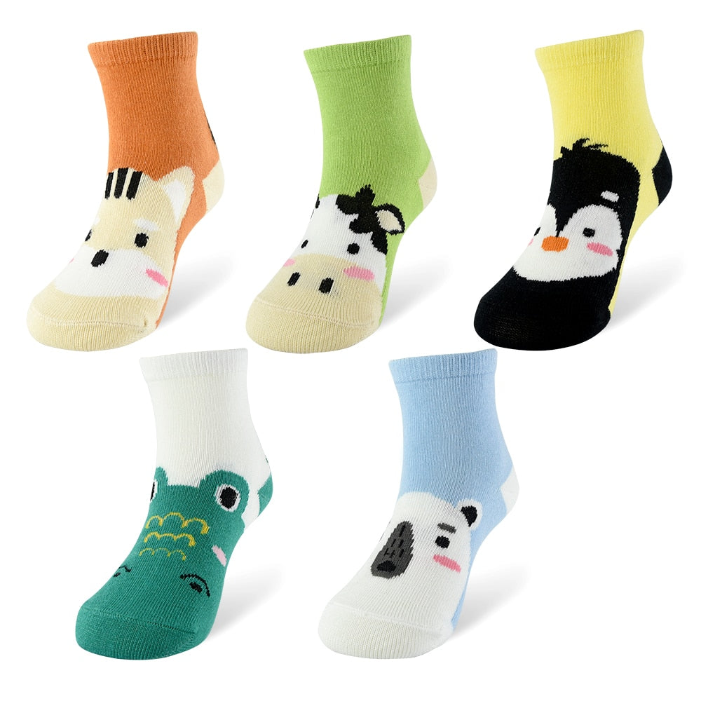 Cute Soft Cartoon Socks