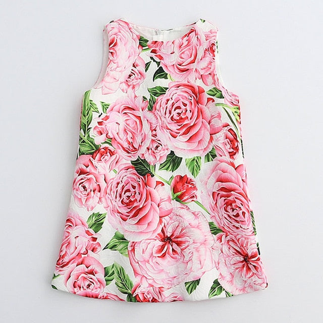 Sleeveless Girls Dress
