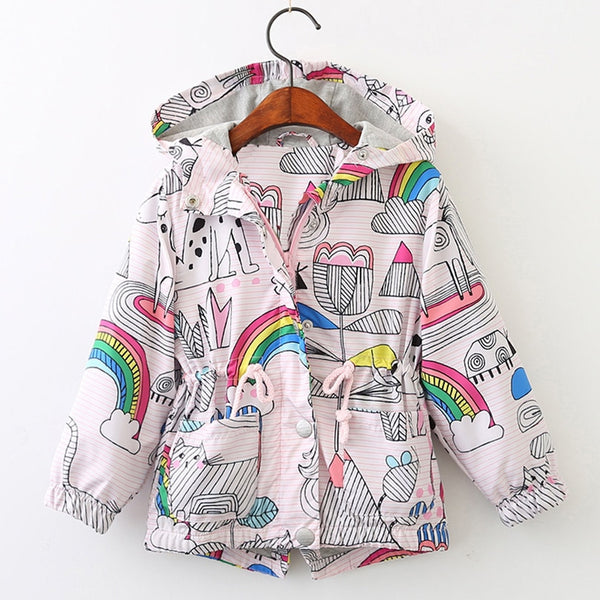 Girls Rose Jackets