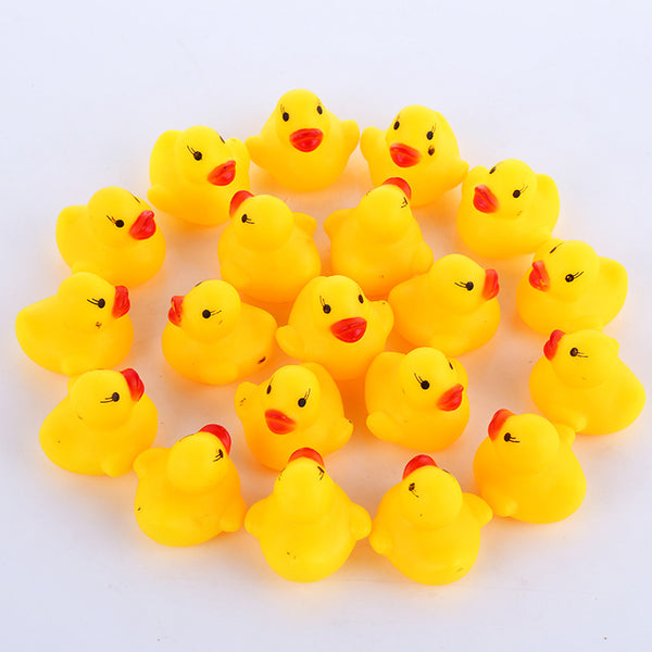 Squeaky Rubber Duck Bath Toys
