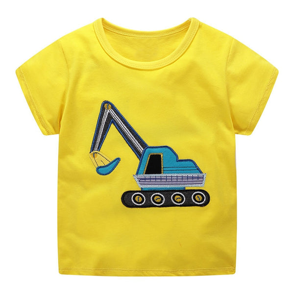 Summer Cotton Cartoon T-Shirts