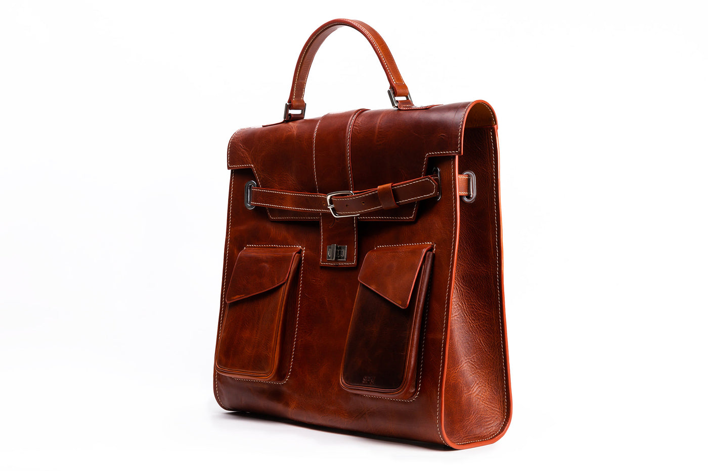 The collection of bespoke leather bags custom made to order