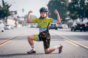 The Roadie Carnivore - Women's Cycling Jersey