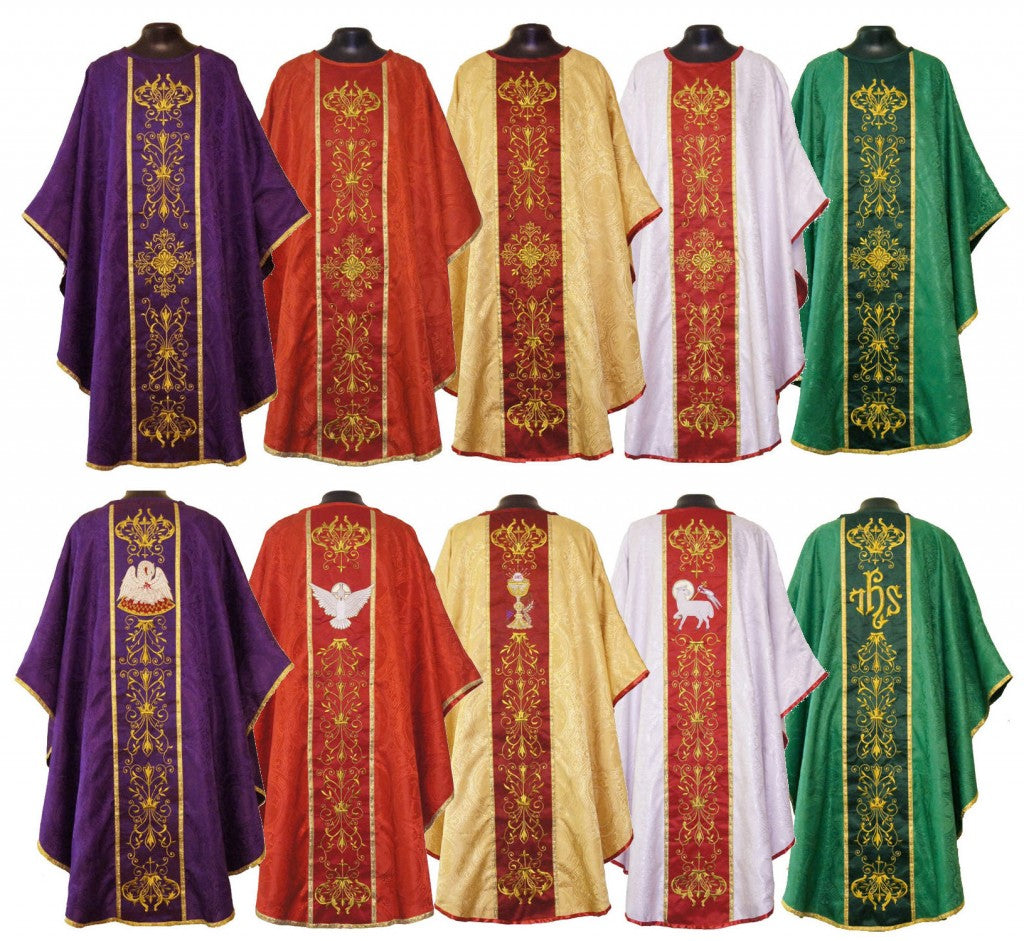 The vestments of a catholic priest wellspring investments llc