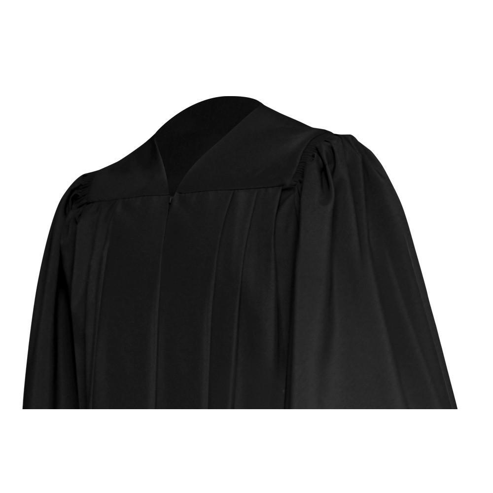 Deluxe Black Choir Robe - Church Choir Robes - ChoirBuy