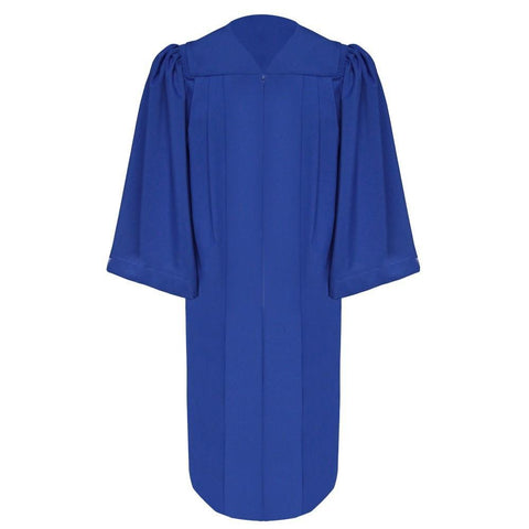 Deluxe Royal Blue Choir Robe - Church Choir Robes - ChoirBuy