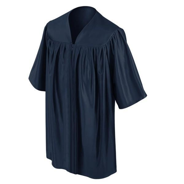 Child's Navy Blue Choir Robe - Church Choir Robes - ChoirBuy