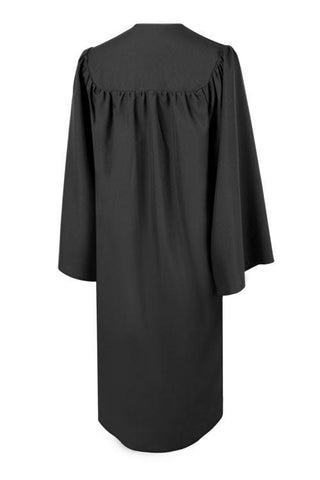 Matte Black Choir Robe - Church Choir Robes - ChoirBuy