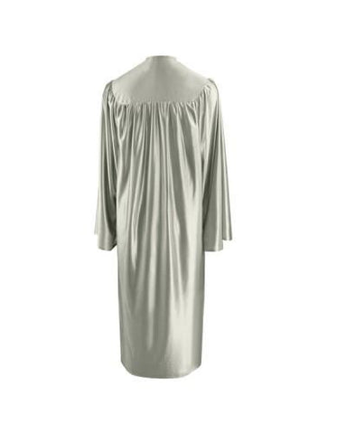 Shiny Silver Choir Robe - Church Choir Robes - ChoirBuy