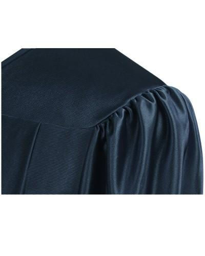 Shiny Navy Blue Choir Robe - Church Choir Robes - ChoirBuy