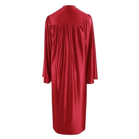 Shiny Red Choir Robe - Church Choir Robes - ChoirBuy