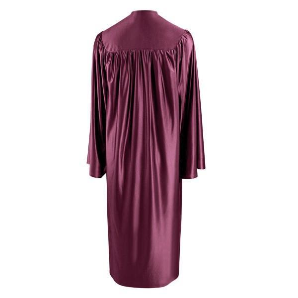 Shiny Maroon Choir Robe - Church Choir Robes - ChoirBuy