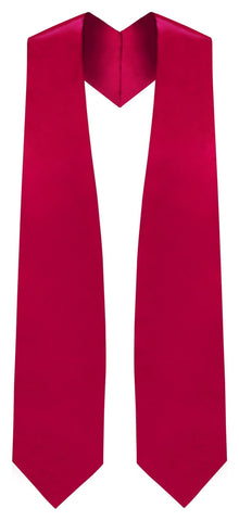 Red Traditional Choir Stole - Church Choir Robes - ChoirBuy