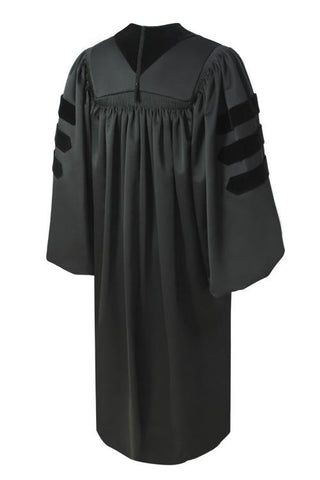 Deluxe Black Pulpit Robe