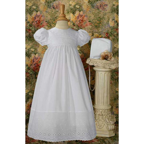 Shona Cotton Baptism Gown