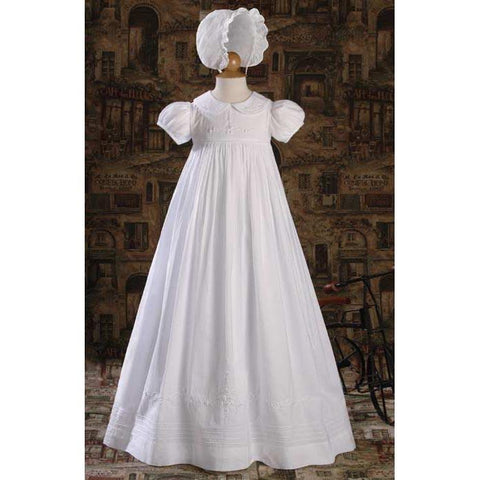 Avina Cotton Baptism Gown