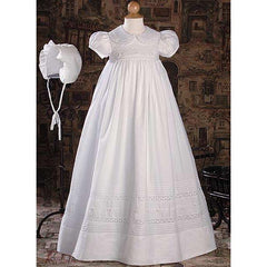 Aveline Cotton Baptism Gown