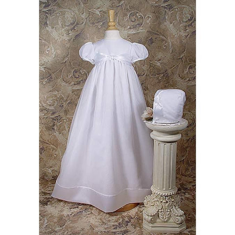 Edith Organza Baptism Gown