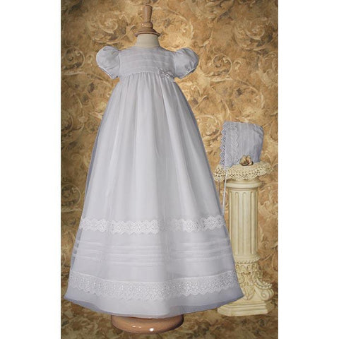Joan Organza Baptism Gown