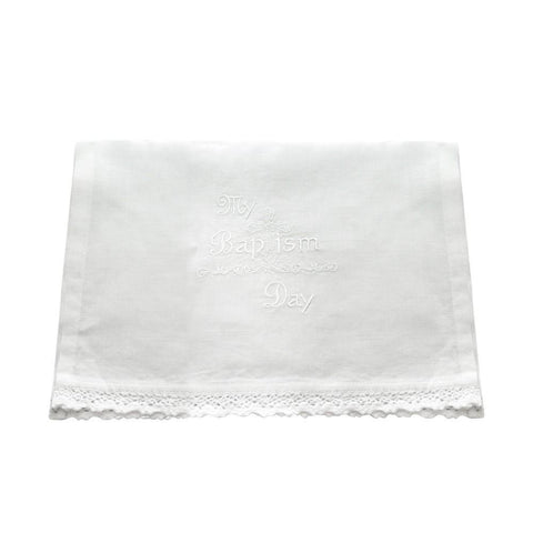Purity Baptismal Linen Towel